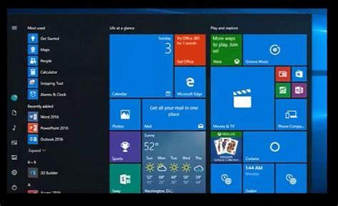 imagenes windows 10 inicio nuevo men 250 de inicio y otras novedades de windows 10