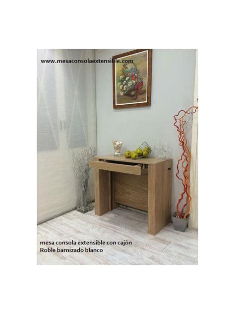 consola comedor extensible mesa consola extensible con caj 243 n y estrecha desde 35 cm