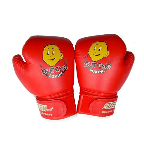 Thai Boxing Gloves 1pair high quality child 1 pair durable boxing gloves sparring kick fight gloves