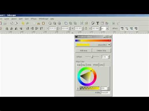 inkscape tutorial gradient inkscape quot radial gradients quot tutorial 9 youtube