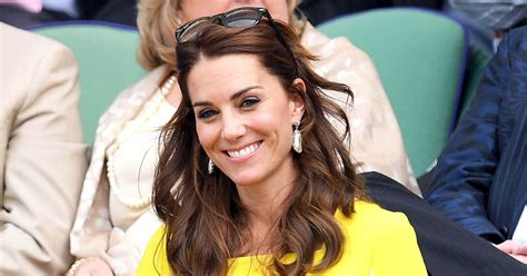 kate middleton us weekly kate middleton recycles a bright yellow dress at wimbledon