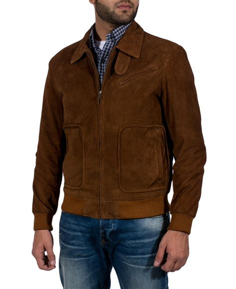Suede Jacket matte brown suede jacket jackets maker