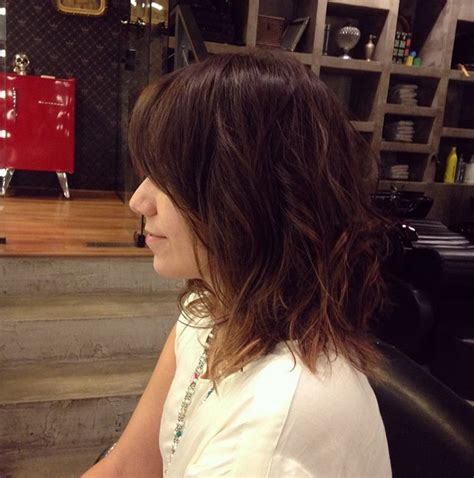 vies of side and back of wavy bob hairstyles 20 fabulous medium length bob hairstyles you will love