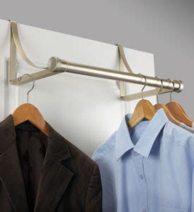 interior design and decorating using metal closet rod
