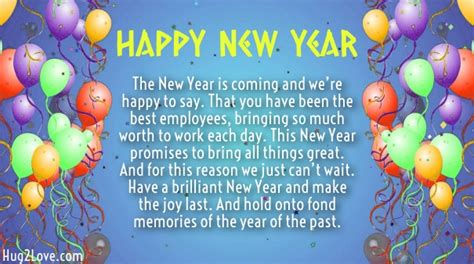 new year wishes to employees 20 happy new year 2018 wishes for employees with images