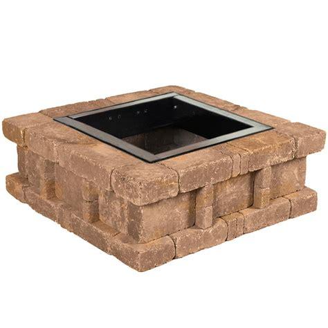 Pavestone Rumblestone 38 5 In X 14 In Square Concrete Pit Kits