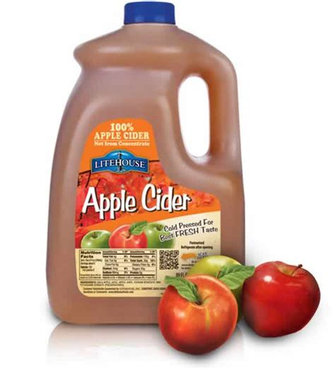 apple cider products litehouse foods