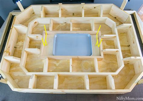 How To Make A Football Stadium Out Of Paper - how to make an epic reusable wood snack stadium