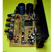 TDA7294 Stereo Amplifier Circuit Of Controlled Loudspeaker