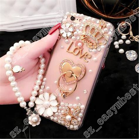 Bling Iphone Samaung Xiomi Oppo rhinestone girly back phone holder bling cover for iphone samsung