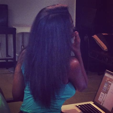 what kind of extensions does kenya moore wear five fabulous instagram celebrity hair reveals
