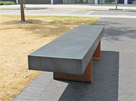 concrete bench seat podium concrete bench seating concrete wood bench