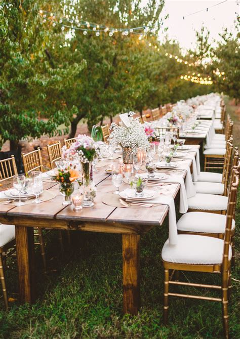 shabby chic outdoor table outdoor wedding tables archives weddings romantique