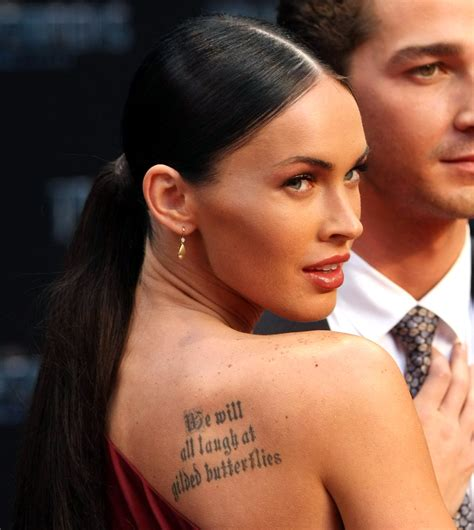 megan fox tattoos 301 moved permanently