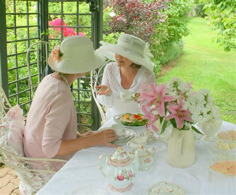 Garden Tea by Aiken House Gardens A Summer Afternoon Garden Tea