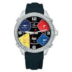 Jacob & Co. Five Time Zone Diamond Watch JC11