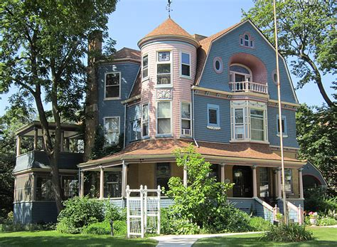 queen anne house dave s victorian house site illinois gallery
