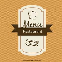 menu card template vector vector free download