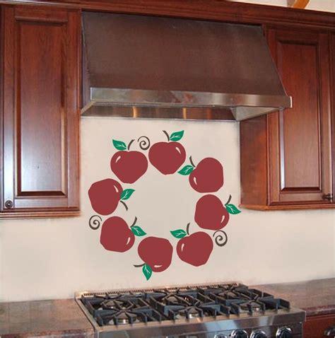 apple wreath kitchen wall sticker vinyl decal decor ebay