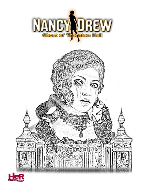 Nancy Drew Games Ghost Of Thornton Hall Her Interactive Nancy Drew Coloring Pages