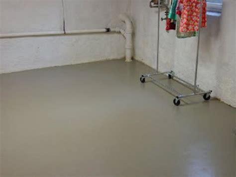 Painting Basement Floor Brown Stone Pattern Floor Basement Basement Floor Paint Id