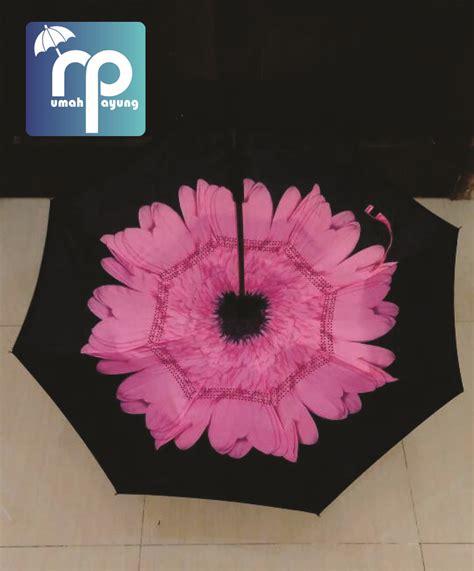 Grosir Payung Terbalik Surabaya payung kazbrella motif rumahpayung