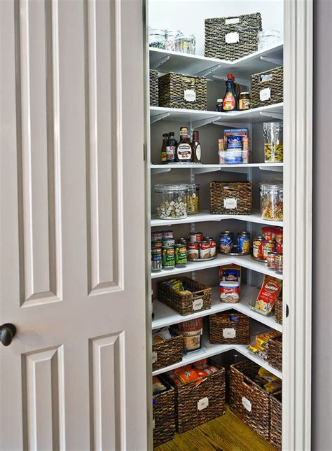 Small Space Pantry The Most Stylish Kitchen Pantry Ideas For Small Spaces