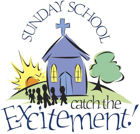 Sunday School Clipart confessions of a sunday school in the begining