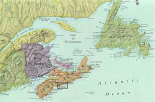 map of canada eastern provinces the atlantic canadian battlefields foundation