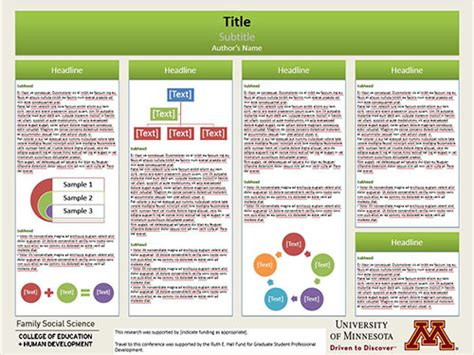 Professional Poster Design Templates Poster For Presentation Template
