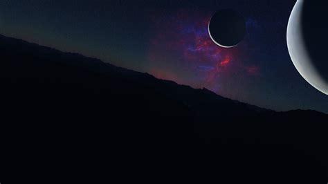 wallpaper kepler  exoplanet planet space stars