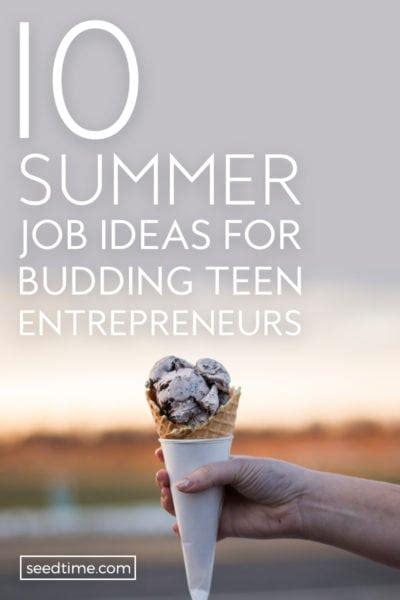 8 job ideas for teens youtube