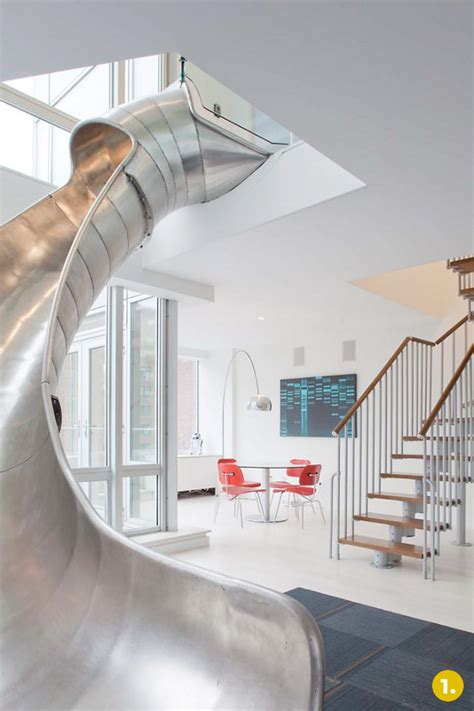 slide in house slides in houses the top 5 coolest indoor slides curbly