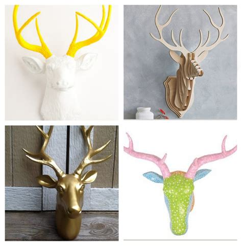 stag head home decor home decor stag heads everywhere lets talk mommy