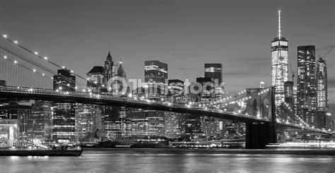 fotos blanco y negro nueva york blanco y negro frente al mar en la noche de manhattan