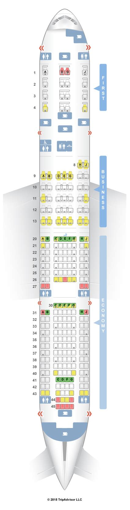 Boeing 787 Floor Plan by Seatguru Seat Map American Airlines Boeing 777 200 777 V1