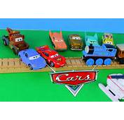 Toys Lightning McQueen Strong Man Train Car Pull For Sally YouTube