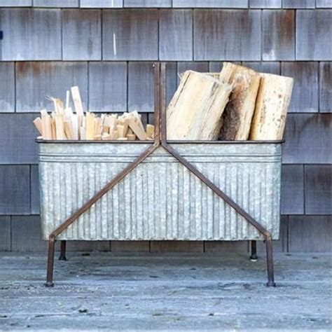 metal wood holder for fireplace 17 best ideas about indoor firewood storage on