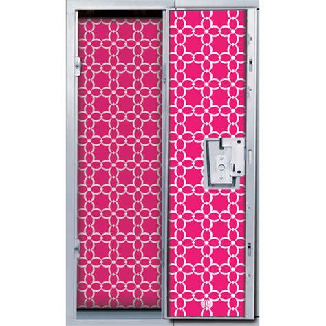 girly locker wallpaper magnetic locker wallpaper in pink floral print