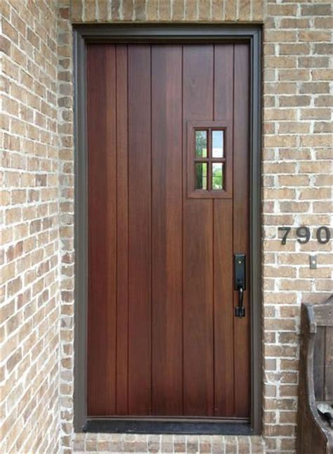 Custom Made Exterior Front Entry Wooden Doors Wood Door Custom Exterior Wood Doors