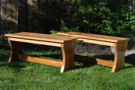 cedar garden bench custom outdoor cedar garden benches by clark wood