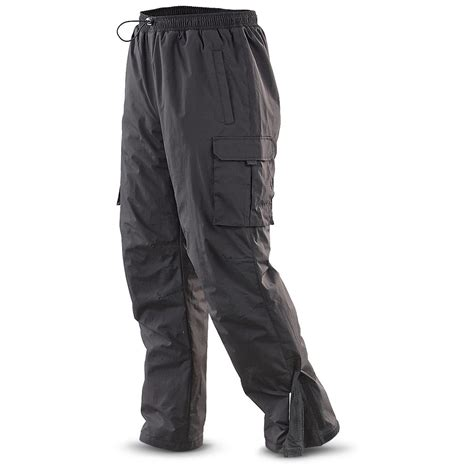 Black Line Pant guide gear s cargo snow 180424 insulated
