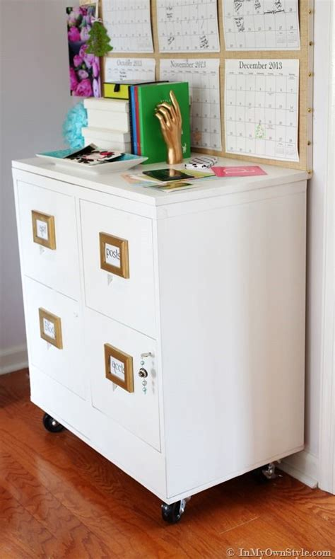 Chalk Paint On Metal Filing Cabinet File Cabinet Makeover Style Cabinets And Offices