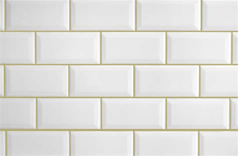 White Beige white tile beige grout tile designs