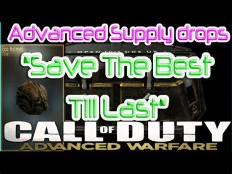 Saving The Best Till Last Cb2 by Cod Advanced Warfare 15x Advanced Supply Drop Opening