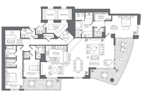 glenridge hall floor plans diplomat residences lujosas residencias en hollywood