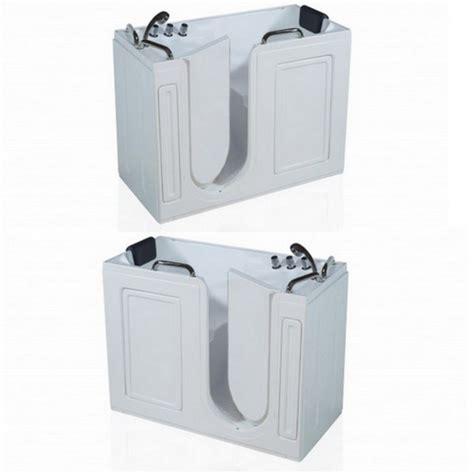 vasca da bagno con apertura laterale vasca 133x67x101 cm con sportello laterale va65