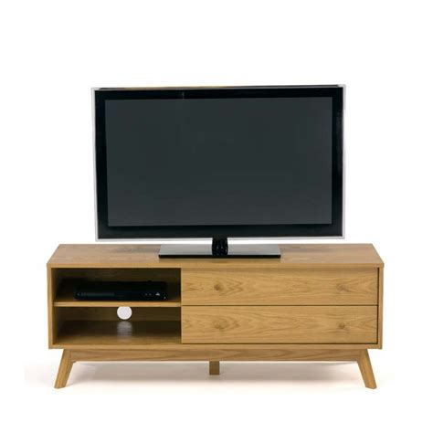 Meuble Tv Design Bois by Meuble Tv Design Bois Massif Kensal Drawer Fr