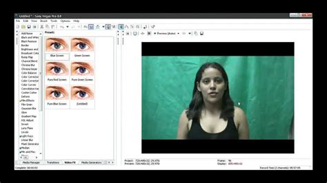 tutorial sony vegas chroma key tutorial sony vegas corre 231 227 o de chroma key pt 1 2 youtube