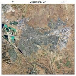aerial photography map of livermore ca california